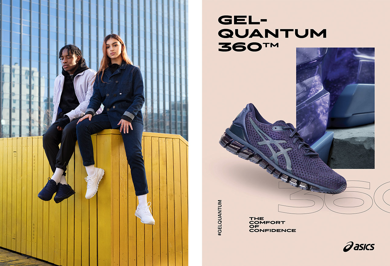 New ASICS campaign debuts The Comfort Of Confidence